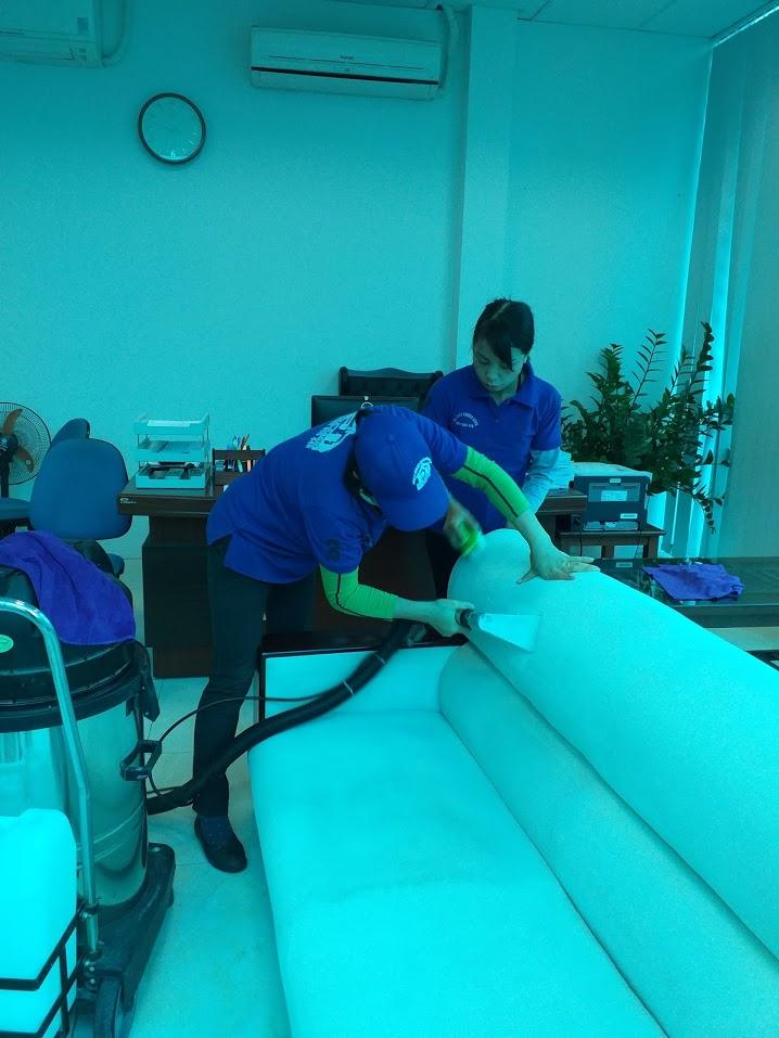 Giặt ghế sofa tại Hạ Long