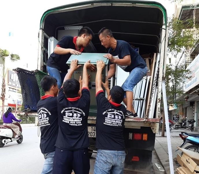 Xe tải chuyển nhà trọn gói Hạ Long