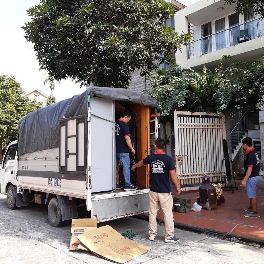 Xe tải 1.25 tấn chuyển nhà