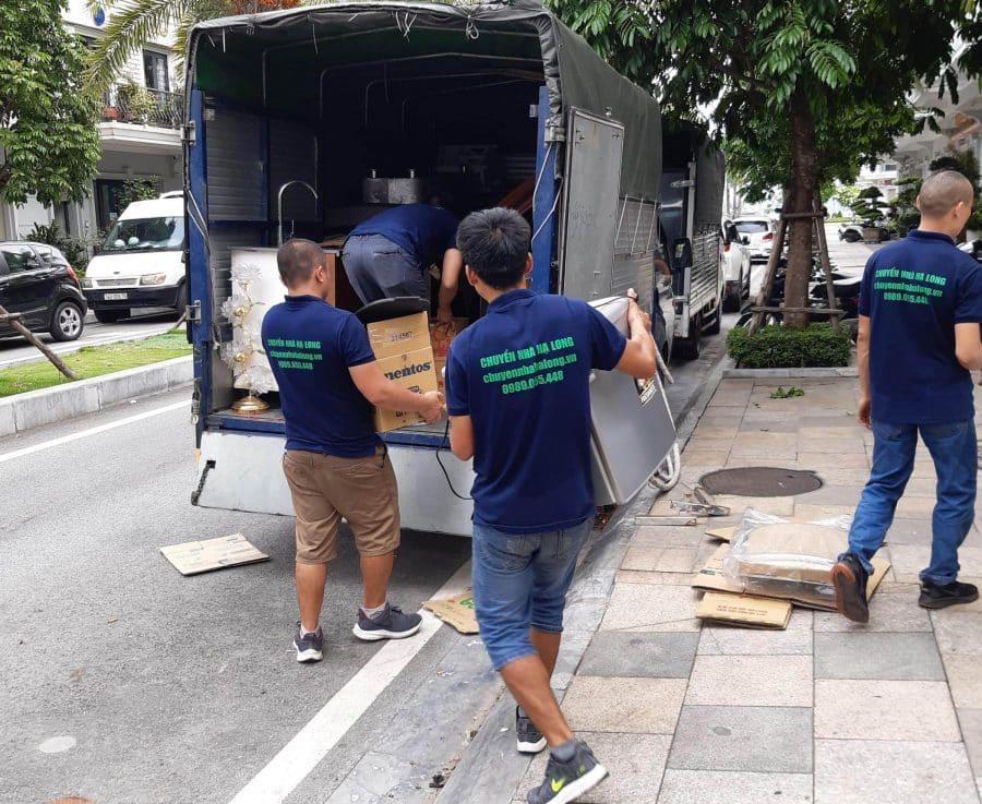 Dịch vụ chuyển nhà Hạ Long trọn gói giá rẻ