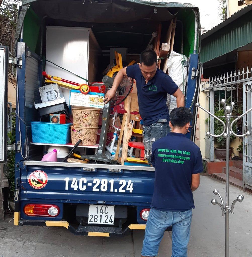 Dịch vụ chuyển phòng trọ tại Hạ Long