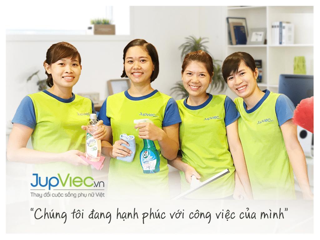 jupviec.vn - đặt lịch thuê người giúp việc tại Việt Nam
